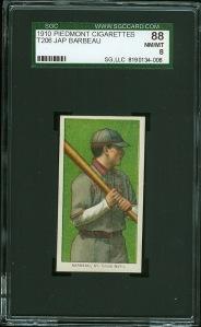 1909 T206 Barbeau