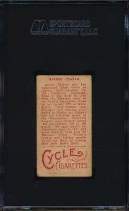 1912 T207 Phelan Back