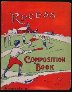 COmposition Book Front