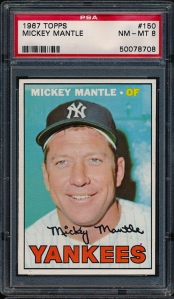 1967 Topps Mantle LOTG