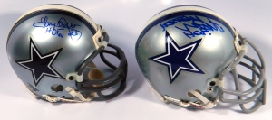 Dallas Cowboys Mini Helmets