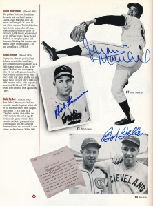 HOF Yearbook Marichal Lemon Feller