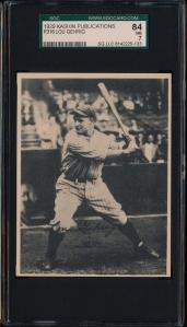 1929 Kashin Gehrig