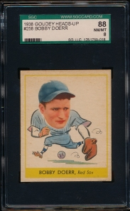 1938 Goudey A Doerr Front