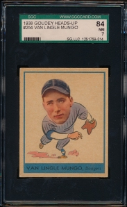 1938 GOudey A Mungo Front