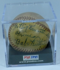 Babe Ruth Ball 1
