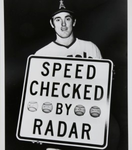 Nolan Ryan knows he's got heat.
