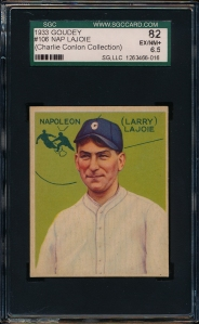 1933 Goudey Lajoie Front