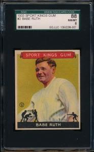 1933 SK Ruth SGC 88 Front
