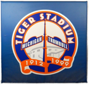 Tiger Stadium 1999 commemorative outfield wall pad - one of only two made!