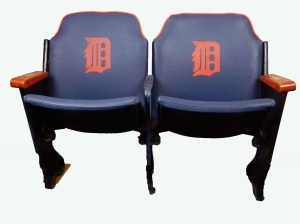 "Tiger Stadium ""Tiger Den"" Seats"