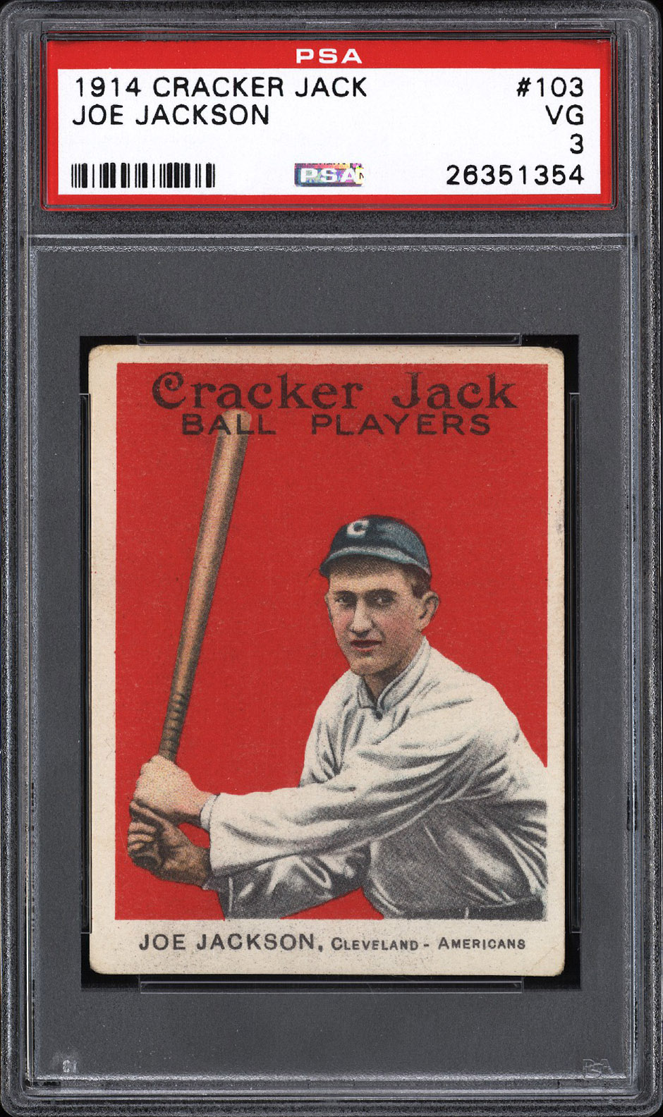 """""""STOCKTON FIND"""" OF RARE CRACKER JACK BASEBALL CARDS TO BE FEATURED IN LOVE OF THE GAME FALLAUCTION"""